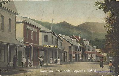 Tahiti Papeete Quai Du Commerce F. Homes