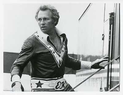 Evel Knievel Portrait Tv Special Original 1974 Abc Tv Photo