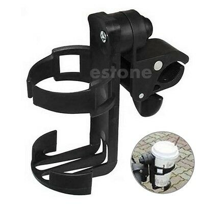 Universal Baby Stroller Parent console Organizer Cup Holder Buggy Jogger Black