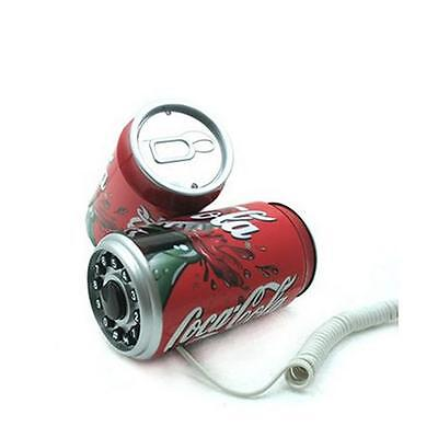 New Novelty Coca Cola Tube Cup Corded ID Telephone Set Coca Cola Telephone