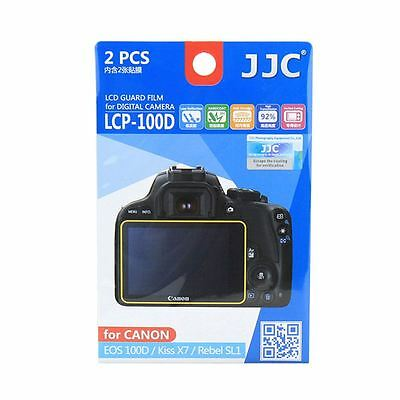 JJC LCP-100D LCD Screen Protector Film for Canon EOS 100D, Kiss X7, Rebel SL1