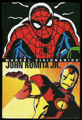Marvel Visionaries John Romita Jr Hardcover HC HB Spider-Man Frank Miller Art of