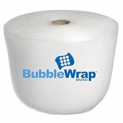 "OFFICIAL SEALED AIR BUBBLE WRAP - 1400' Ft Roll - 3/16"" Small Bubble - 12"" Perf"