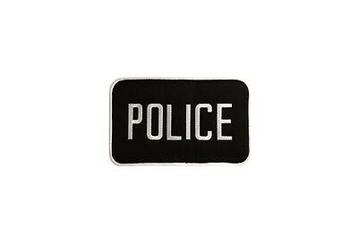 "New Uncle Mike's 2.25"" x 4.25"" Police Patch w/Removable Molle Attachment 7705020"