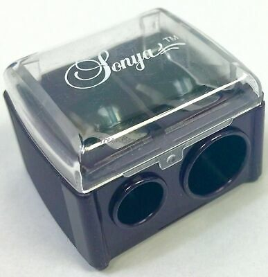 Sonya Dual makeup pencil sharpener german blades for lip and eye liner