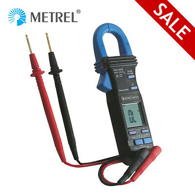 Metrel Mini Clamp Meter 600A AC DC Voltage Current Diode Continuity Capacitance