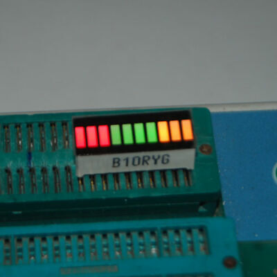 5pcs New 10 Segment Led Bar Graph MULTICOLOR