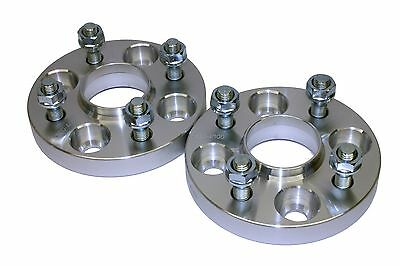 20mm 4x100 54.1CB Hubcentric Wheel Spacer Kit Mazda MX5 MX3 Demio