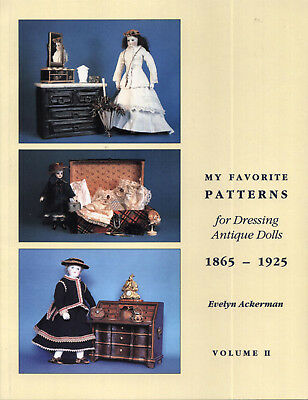 38 Fashion Vintage Antique Patterns Mignonnette 2 French German Fashion Doll