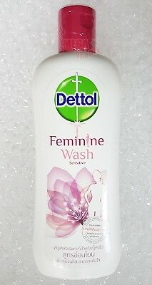 DETTOL FEMININE HYGIENE WASH SENSITIVE CLEANSING PH BALANCE 220 ml.