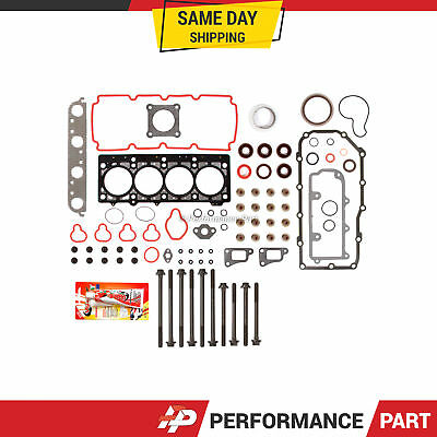 Full Gasket Set Head Bolts for 00-05 Plymouth Breeze Dodge Neon Stratus ECB SOHC