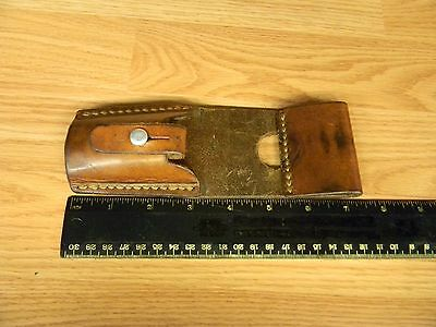 Used Swiss Army Military Stgw-57/ M-57 Bayonet Leather Frog Free Shipping!