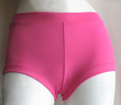 Girl's Capezio Hot Pink Boy Cut Low Rise Booty Shorts #TB113 Size S, I, M, L