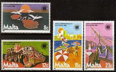 Malta Mnh 1983 Sg708-711 Commonwealth Day Set Of 4