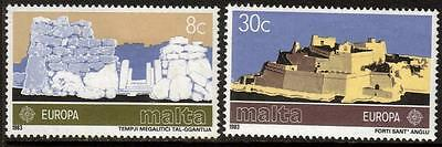 Malta Mnh 1983 Sg712-713 Europa Set Of 2