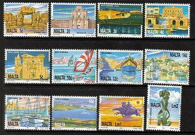 Malta Mnh 1991 Sg905-916 National Heritage Set Of 12