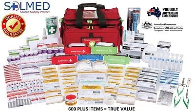 Remote Area Professional Workplace First Aid Kit / Trauma Pack, Paramedic Style