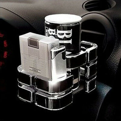 1pcs Universal Vehicle Car Truck Drink Bottle Cup Phone Holder Stand BK Gift