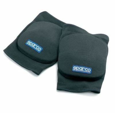 Sparco KNEE PADS protection One size BLACK Impact Absorbing FREE DELIVERY