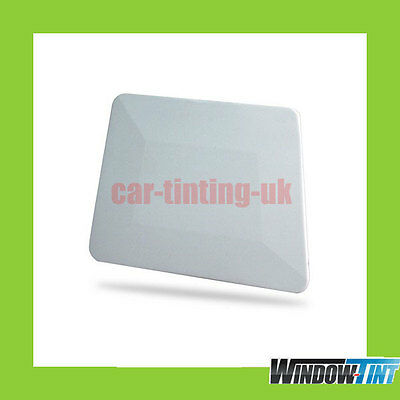 White Teflon Hard Card Squeegee - Car Window Tint Tool Tinting Tools For Film