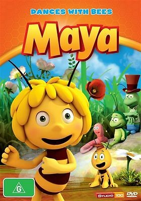 Maya The Bee - Dances With Bees (DVD, 2013)-REGION 4-Brand new-Free postage