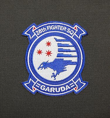 Ace Combat 28th FIGHTER SQUADRON GARUDA Morale Patch VELCRO® Brand