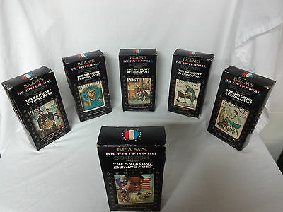 Beam 's Bicentennial Limited Edition Series Decanter Lot of 6