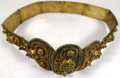 Antique Imperial Russian Gold Silver 84 Belt Noble Cossack Filigree Russia Royal