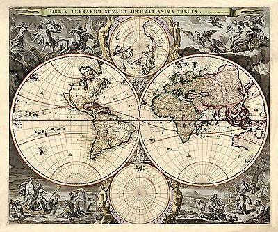 Old world map europe africa america wright 1768 23 x 2578 1690 old world map antique beautiful art america europe australia gumiabroncs Image collections
