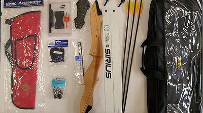 """Cartel IT2000 Recurve Bow Kit 68"""" With Arrows, Bag, Sight, Hunger Games Katniss"""