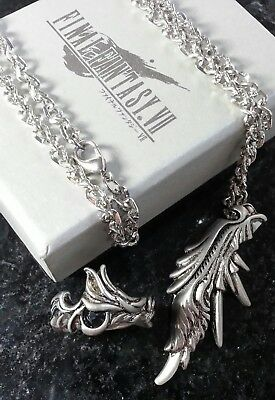 Final Fantasy VII Sephiroth's Ring & Necklace FF7 XV Cosplay Anime Squall Cloud