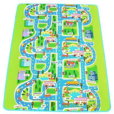 Car Road Track Children Play Mat Pad Rug Lego Big 2M x 1.6M + Carry Bag XG