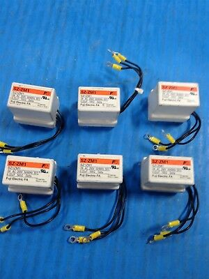 Lot Of 6 Fuji Electric Sz-Zm1 Main Surge Suppressor Used U5