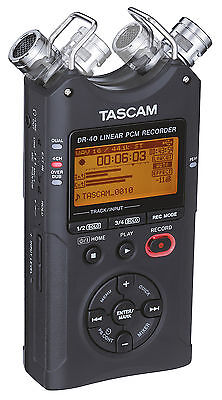 Tascam DR-40 Linear-PCM/MP3-Recorder