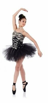 Ballet Tutu Dance Parsienne Sequin Costume Beautiful Things 6X7-AXL MADE IN USA