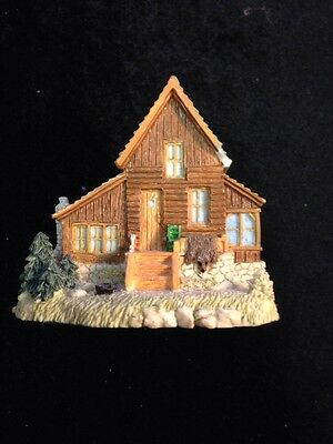 """Liberty Falls Collection AH133 Trapper """"Big Mike's Cabin"""" Exclusive Creation"""