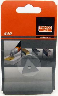 "Bahco Replacement 1"" Scaper Blade Triangle #449 for #625 Scrapers"