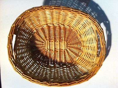 Display Basket Natural Willow Trays for Bread Produce Centerpiece Gift 3 count
