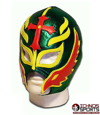 Luchadora Son Of Devil Afro Mexican Lucha Adult Wrestling Mask