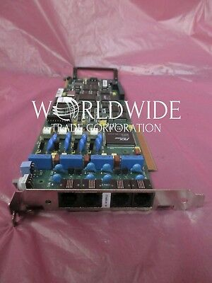 Dialogic D/41E-PCI, 4-Port RJ-11 PCI Voice Processing Card