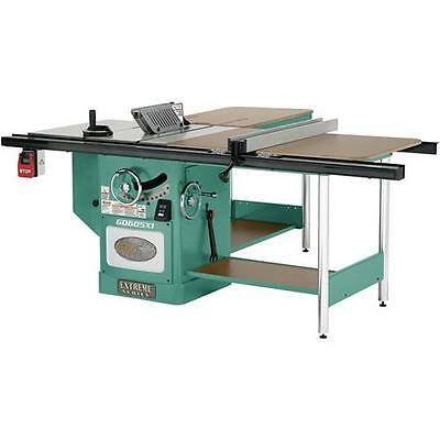 "G0605X1 Grizzly 12"" Extreme Table Saw - 5HP, Single-Phase"