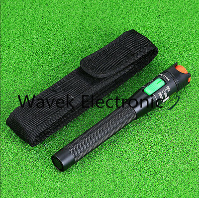 Hot New 30mW 30KM Red Light Visual Fault Locator Fiber Optic Cable Tester Meter