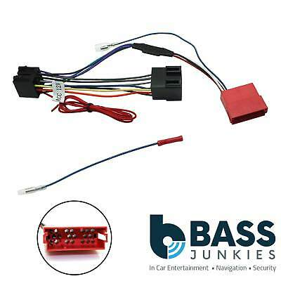 Audi A3 2000-2002 Car Stereo BOSE Rear Amplified RCA Speaker Bypass Lead