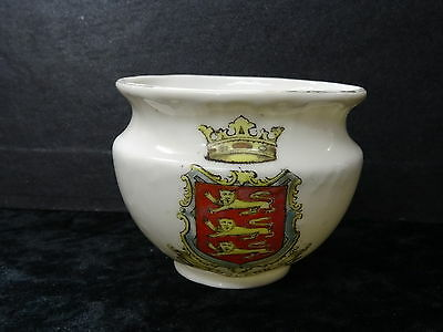 Gemma China Model of a Bowl with Arms/Crest of England