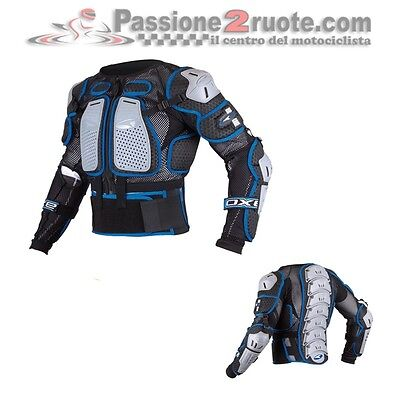 Body Armour Axo Air Cage Protection Chest back shoulders elbows moto cross