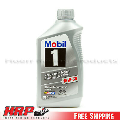 Mobil 1 15W-50 Synthetic Motor Oil - 1 Quart