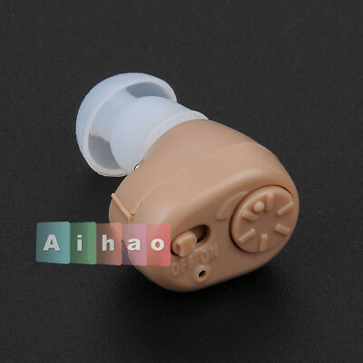 In Ear Mini Invisible Best Sound Amplifier Adjustable Tone Hearing Aids Aid【UK】