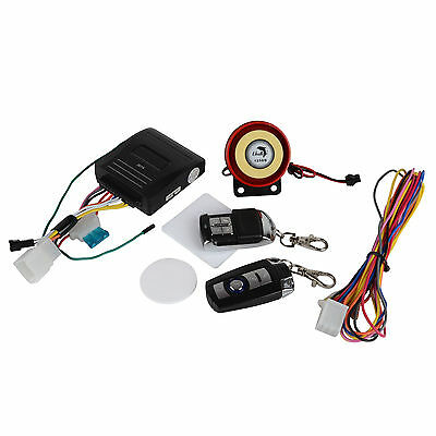 Motorcycle Bike Anti-theft Remote Control One-way Alarm System Waterproof