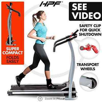 LED Display HPF Super Treadmill Exercise Equipment Machine Fitness Home Gym AU
