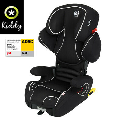 KIDDY Cruiserfix Pro Black ISOFIX Hi Back Booster Child Car Seat Group 2/3 4-12Y